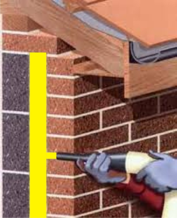 cavity wall spray foam insulation