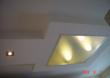 internal ceiling renovation 2 - services