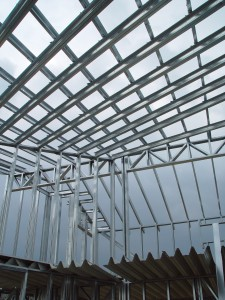 metal frame building structure