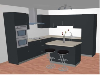 services - 3D kitchen design