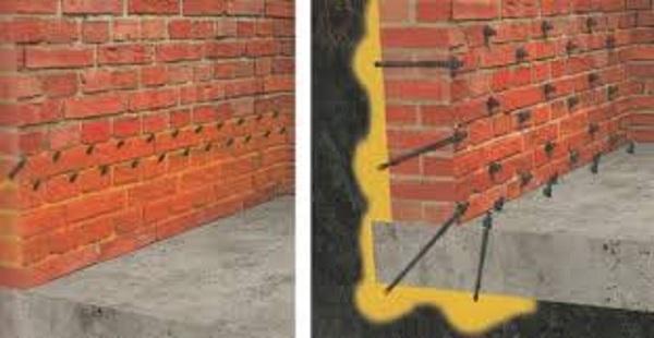 brick wall injection, insulation