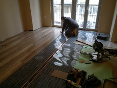 floor heating systems - stage 6.