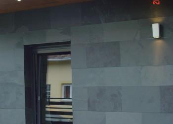 External renovation detached house facade