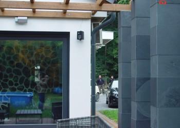 House extension - detached house terrace