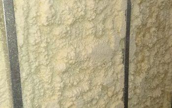 5- Trimmed spray foam