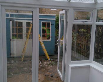 Conservatory - Entrance door