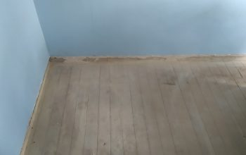 Timber structure - before laminate flooring