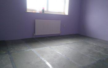 Prepared underlay for laminate flooring